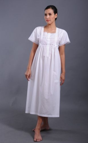 Cotton Nightdress - Rebe
