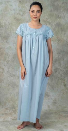 NEW! Long Luxury Nightdress - Linda