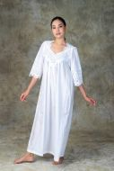 NEW! Luxury Cotton Lace Nightdress - Jangera