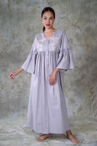 NEW! Embroidery Cotton dress - ANDIA GY