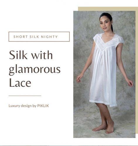 NEW! Short Silk Nighty - JONE N