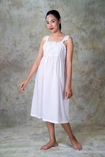 NEW! Cotton Embroidered Nighty DVP