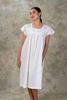 NEW! Dotted Cotton Nightdress ARAYA