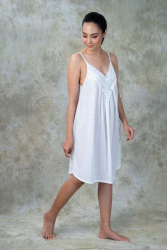 NEW! Dotted Cotton Nightdress PKT
