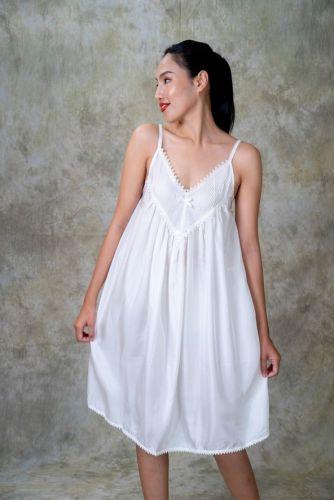 Silk Nightdress - MANEE