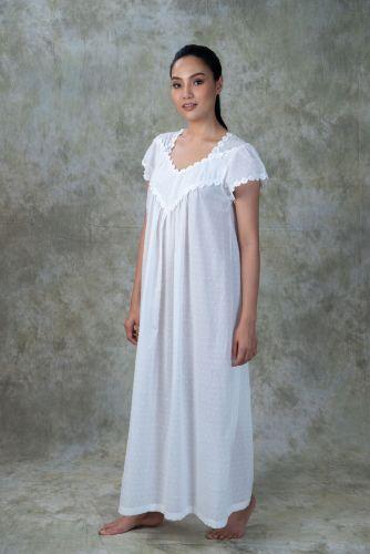 NEW! Dotted Cotton Nightdress WINDY