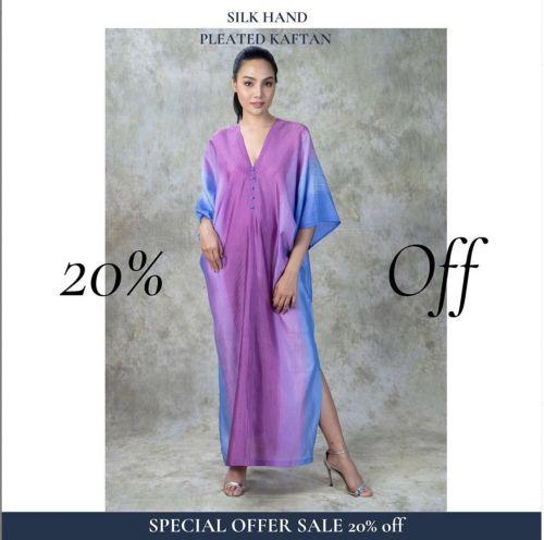 NEW! Silk Dress KF